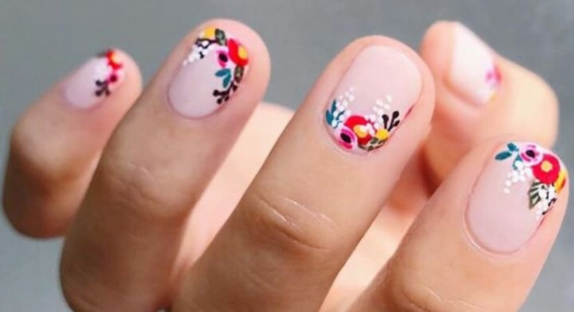8 Bright & Beautiful Nail Art Ideas To Try Right Now! | Easy DIY Spring Nails