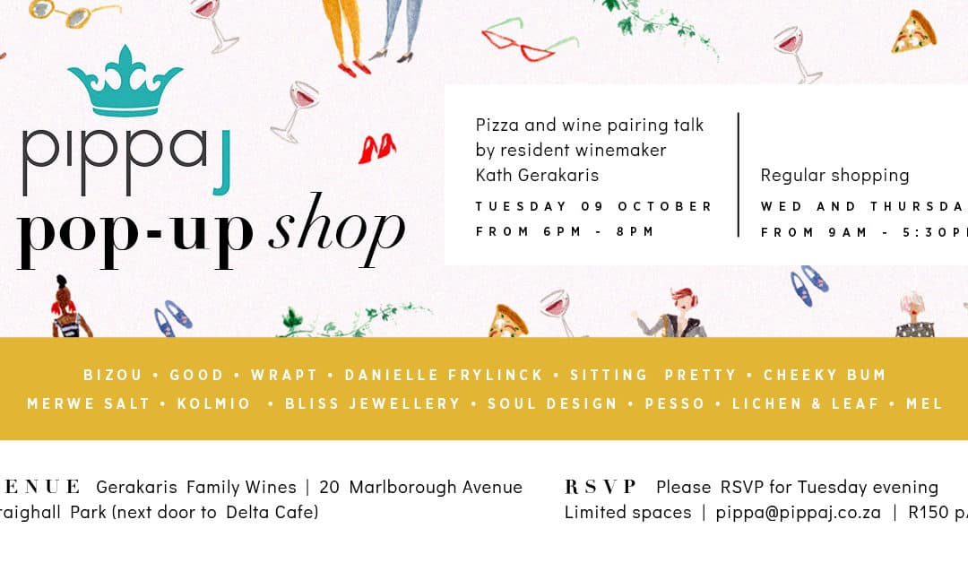A Summer Pop Up Shop hosted by Pippa J