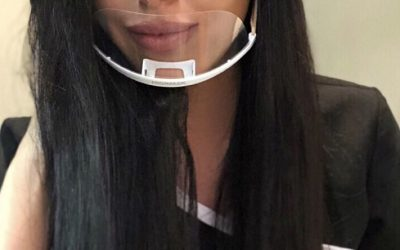 Nicol Saacks and her beautiful brows